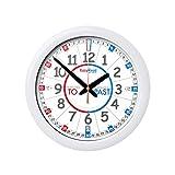 EasyRead Time Teacher Mini Classroom Children's Wall Clock with Silent Movement.