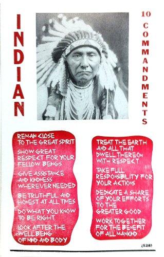 Native American Indian 10 Commandments 14