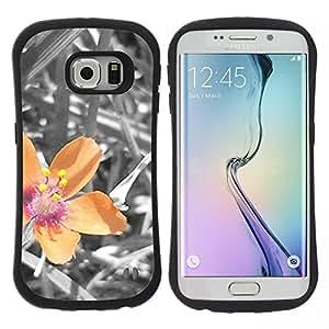 "Hypernova Slim Fit Dual Barniz Protector Caso Case Funda Para Samsung Galaxy S6 EDGE [Planta Naturaleza Forrest Flor 40""]"