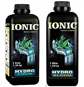 Ionic Hydro crecer suave X6+ agua 1litro Ionic–Hydro Bloom suave agua 1L X6RRP £ 107.00