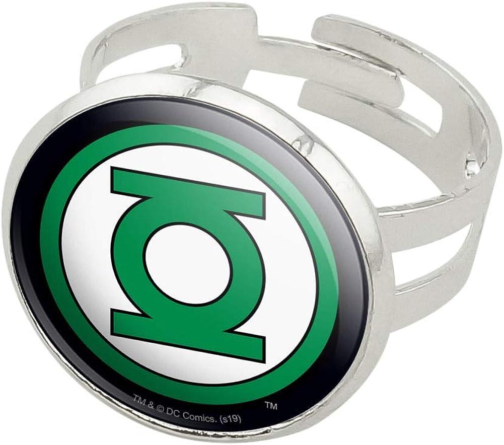Green Lantern Belt Buckle Usa American Superhero Comics  Mens Fashion Costume