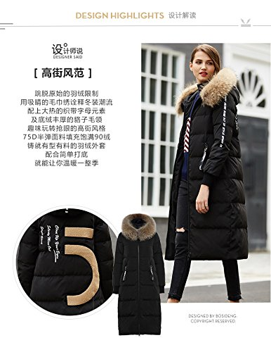 Generic Bosideng_street_personalized_letter_ commuter simple _tops_ down jacket Women longer_section_1601540 by Generic (Image #6)