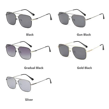 Wuxingqing Gafas de Sol para Hombre HD Gafas de Sol ...