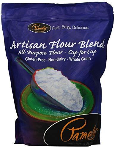 Pamela's Products Artisan Flour Blend, 4 Pound (6 Pack)