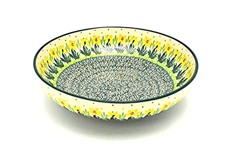 Daffodil Polish Pottery Bowl Ice Cream//Dessert