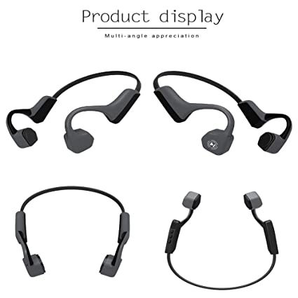 30bd2fb8295 Amazon.com: AIUSD Cleaner, V8 Wireless Bluetooth Sport Bone Conduction  Earphone for iPhone Android iOS: Home & Kitchen