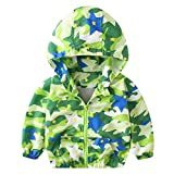 Dinlong Toddler Newborn Kid Baby Boy Coat Waterproof Jacket Outwear Autumn Winter Children