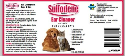New Sulfodene Ear Cleaner Antiseptic