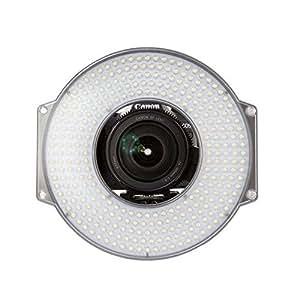F&V R-300 LED Ring Light with L-Bracket Video Camera Light for DSLR Camera