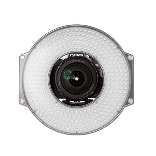F&V R-300 LED Ring Light with L-Bracket Video Camera Light for DSLR Camera by F&V