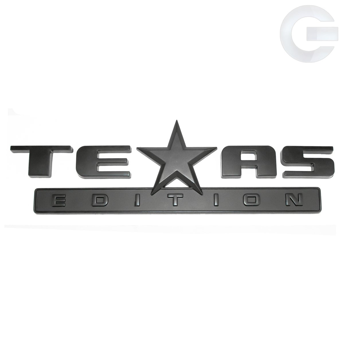 All Chevy black chevy symbol : Amazon.com: Matte Black Texas Edition Truck Emblem Badge Chevy GMC ...