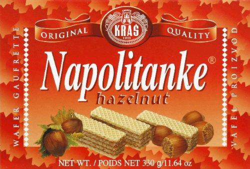 Napolitanke Hazelnut Wafers 330g/11.6oz ()