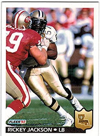 8f768e2e4 1992 Fleer New Orleans Saints Team Set with Rickey Jackson   2 Pat Swilling  - 19