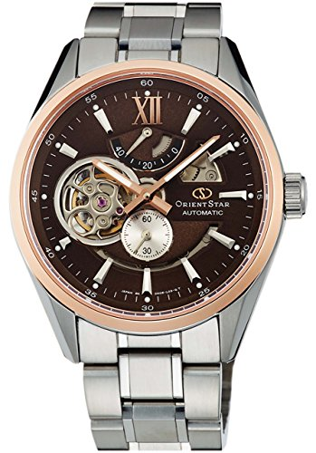 ORIENT Men's Watch ORIENT STAR Modern skeleton ORIENT65 Anniversary model Mechanical automatic (with manual winding) Brown WZ0261DK