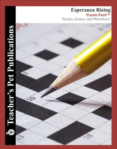 Esperanza Rising Puzzle Pack - Teacher Lesson Plans, Activities ...