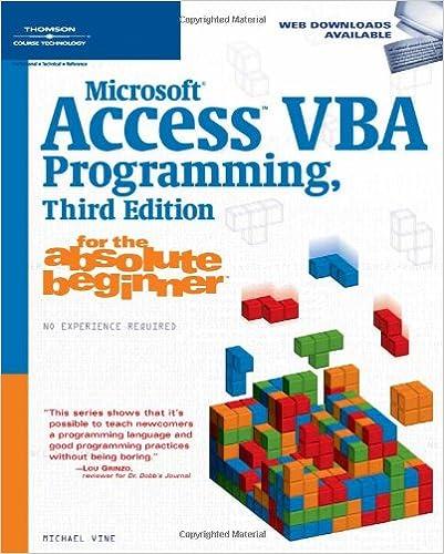 Microsoft Access 2007 Guide Beginner Ebook