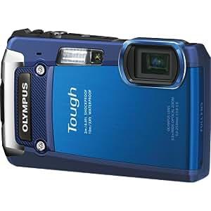 Olympus Digital Camera TG-820 Blue (Old Model)