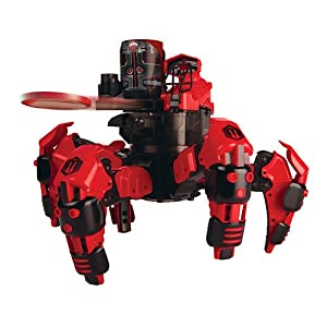 Combat Creatures Attacknid MK1 Battling Spider Toy Robot with Remote Control