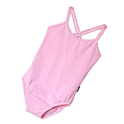 44669b46b9cb Image Unavailable. Image not available for. Color: George Jimmy Pink Cotton  Gymnastics Leotards for Girls Leotard Dance Costumes Sportswear