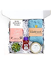 UnboxMe Care Package For Women | Get Well Soon Gift Feel Better Soon | Stress Relief Gift Self Care Encouragement Gift Nurse Gift Bff Gift, Cancer Gift, Happy Birthday Gift