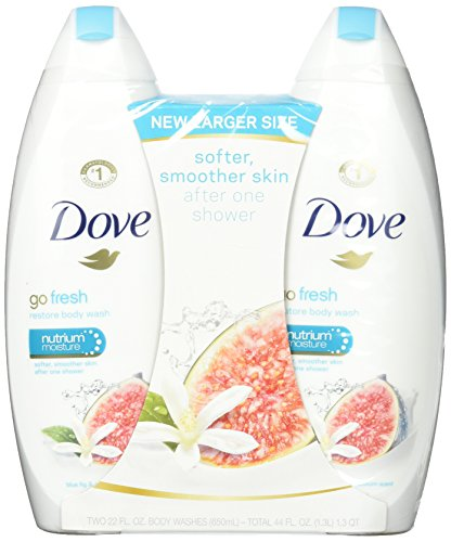 Dove Go Fresh Body Wash, Restore, 44 Ounce