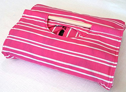 Pink Stripe 9x13 Casserole Carrier, Can be Personalized