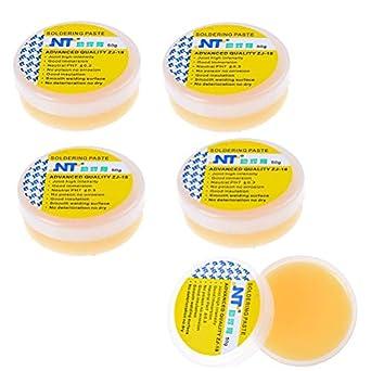 snnplapla 5pcs (50 G/PCS) colofonia soldadura Flux pasta grasa de soldadura para