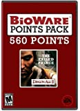 BioWare Points 560 The Exiled Prince [Online Game Code]