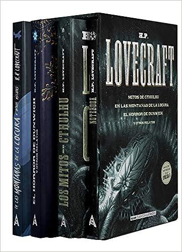 Estuche - H.P. Lovecraft: mejores títulos + notebook Pack Clásicos Ilustrados: Amazon.es: Lovecraft, H. P.: Libros