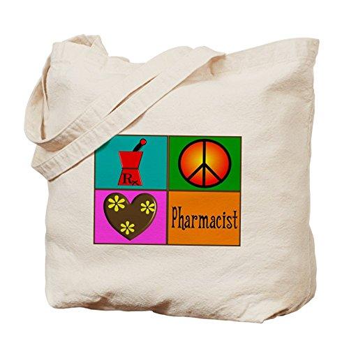 Cafepress–più farmacista–Borsa di tela naturale, tessuto in iuta