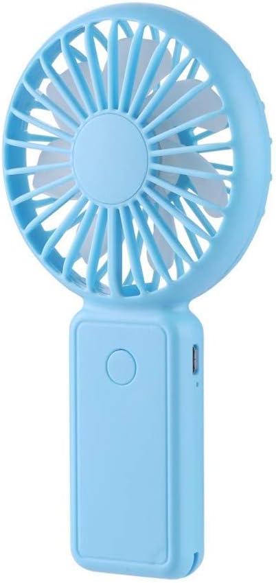 Mini ventilador de mano WOZOW, escritorio personal portátil, cochecito, ventilador de mesa, ventilador eléctrico de enfriamiento: Amazon.es: Hogar