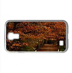 Autumn Scenes 19 Watercolor style Cover Samsung Galaxy S4 I9500 Case (Autumn Watercolor style Cover Samsung Galaxy S4 I9500 Case)