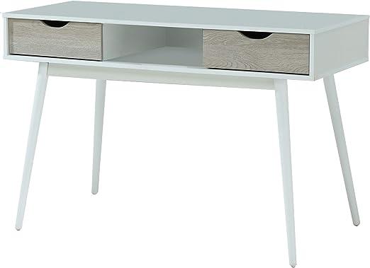 Loft24 Schreibtisch weiß Bürotisch Computertisch ...