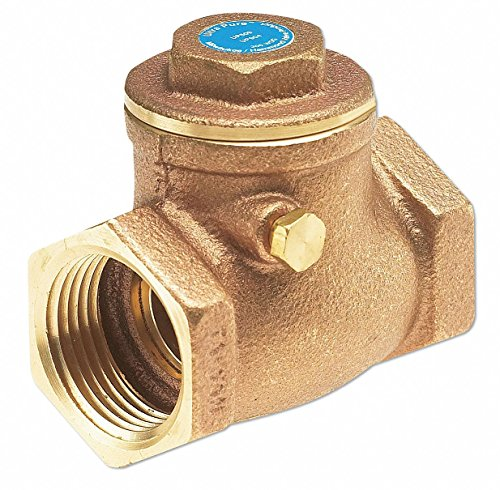 (Milwaukee Valve UP509 Series Bronze Swing Check Valve, Potable Water Service, 3/8