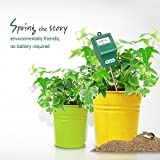 Dr.meter [Soil Moisture Meter] Hygrometer Moisture Sensor for Garden, Farm, Lawn Plants Indoor & Outdoor(No Battery Needed), S10