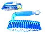 BRUSH W/HANDLE 6.3'' LONG BLUE CLR W/ RUBBER , Case of 96