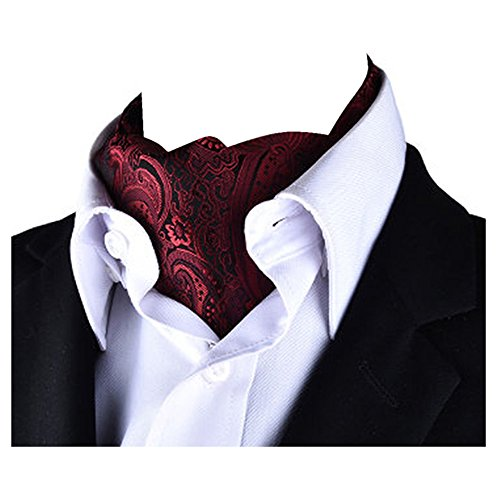 Reversible Cravat Tie Paisley Scarf Men's YCHENG Jacquard Ascot Luxury X902 Patterned xO8Wq447wS