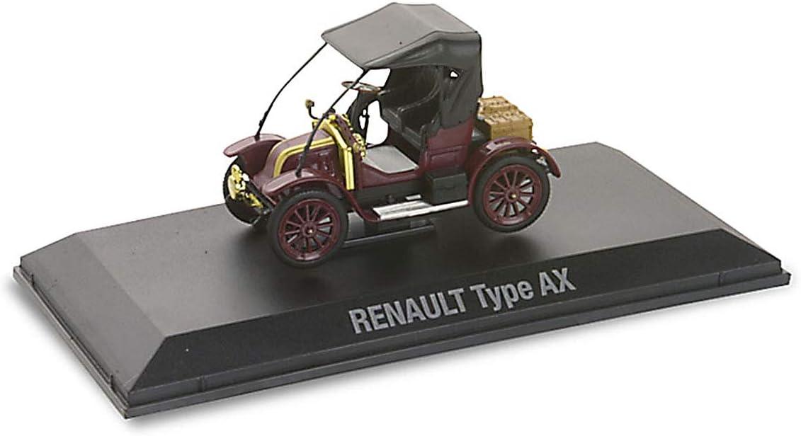 Rouge avec Capote Noire Renault Norev Type AX 1908 1//43/ème