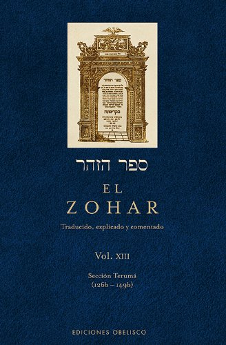 El Zohar, Vol. 13 (Spanish Edition)