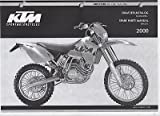 2000 KTM MOTORCYCLE CHASSIS 400/520 SX EXC RACING SPARE PART MANUAL