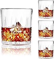 SZMMG Vasos de whisky – 326 ml únicos Old Fashion Rocks