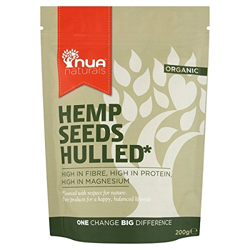 Nua Naturals Hemp Seeds Shelled (200 Grams) (4 PACK)