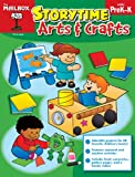 Storytime Arts and Crafts : PreK-K, The Mailbox Books Staff, 1612763677