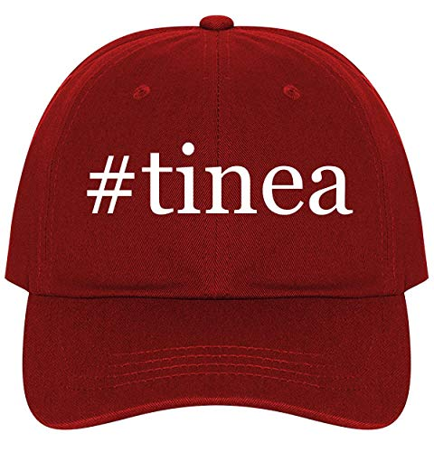 #Tinea - A Nice Comfortable Adjustable Hashtag Dad Hat Cap, Red