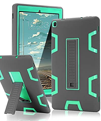 TOPSKY Fire HD 10 Case,[Kickstand Feature],Shock-Absorption / High Impact Resistant Armor Defender Case For Amazon Fire HD 10 Tablet (Fire 10.1