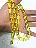 Genuine Natural Real Amber Stone Prayer Beads , Rosary Tasbih Necklace ,Usa Shipping Free