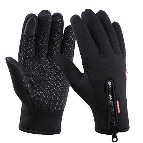 Brudergo wasserdichter Touchscreen Handschuhe Winter Fahrradhandschuhe Laufhandschuhe Sporthandschuh mit Touchscreen Funktion