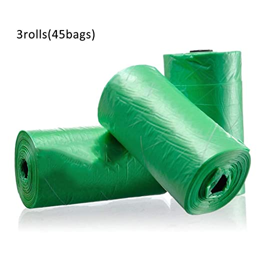 A-Z ZA Bolsas de Basura para Perros de 3 Rollos ecológicas ...