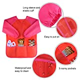 KUUQA Childrens Kids Toddler Red Waterproof Play