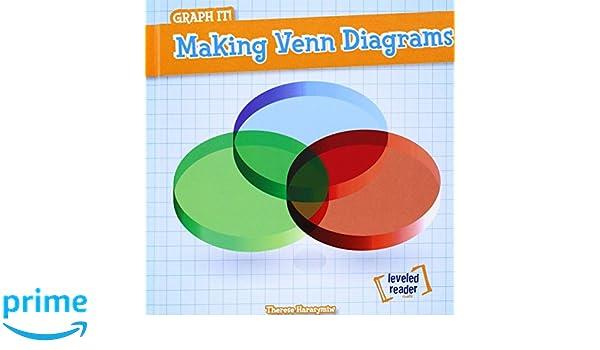 Making Venn Diagrams Leveled Reader Math Graph It Therese